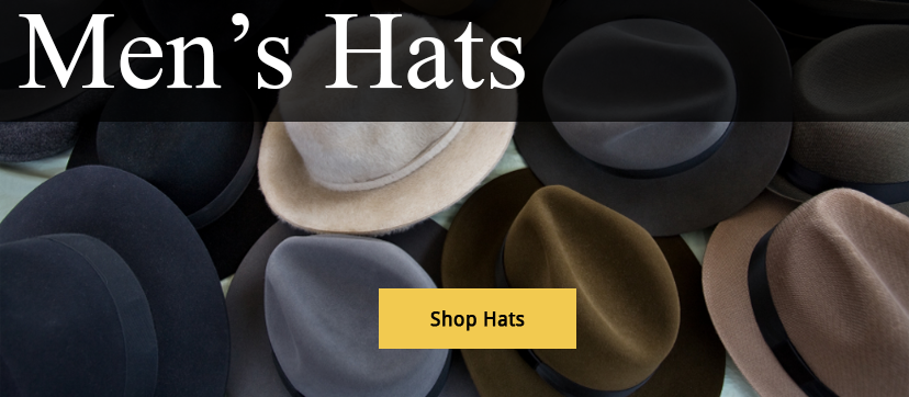 Men's Hats Shop Now