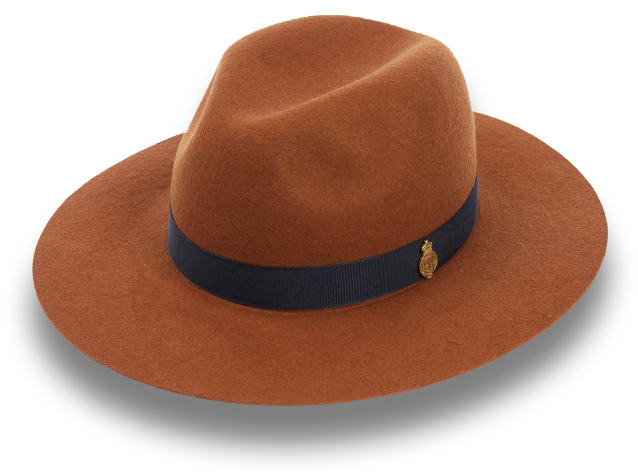 Rustic Brown Colored Hat