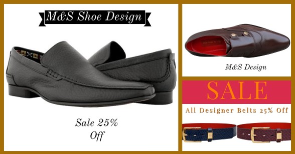 M&S Shoes Design Sale